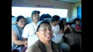 Paracelis Anonat  Isabela Mt. Province  Mission May 18, 2012 (Sleeping in the bus)