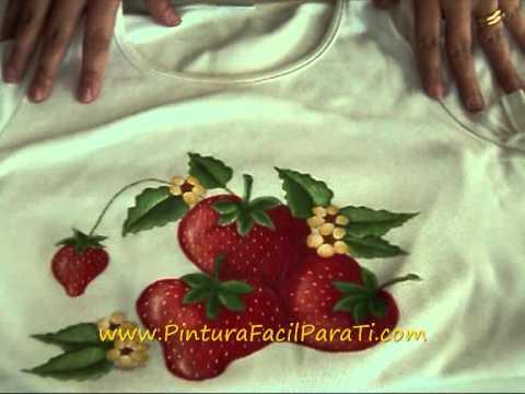 Re fijador textil pintura en tela pintura facil para ti - Como pintar telas a mano ...