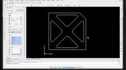 Draftsight Anfänger Tutorial, einfache Zeichnung für CNC / Tutorial - Teil 1