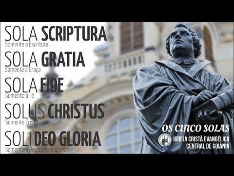 OS CINCO SOLAS: Somente a Fé | Pr. João Joaquim