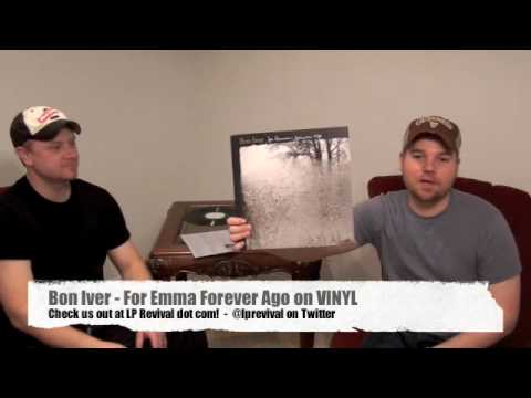 Bon Iver - For Emma Forever Ago VINYL LP Revival
