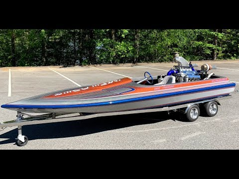 Finnegan's Garage Ep.68: I'm Working on the 711ci Twin Turbo Hemi Jet Boat Again!