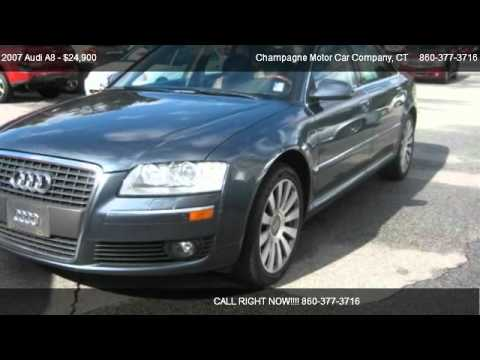 2007 audi a8 l quattro for sale in willimantic ct 06226 youtube. Black Bedroom Furniture Sets. Home Design Ideas
