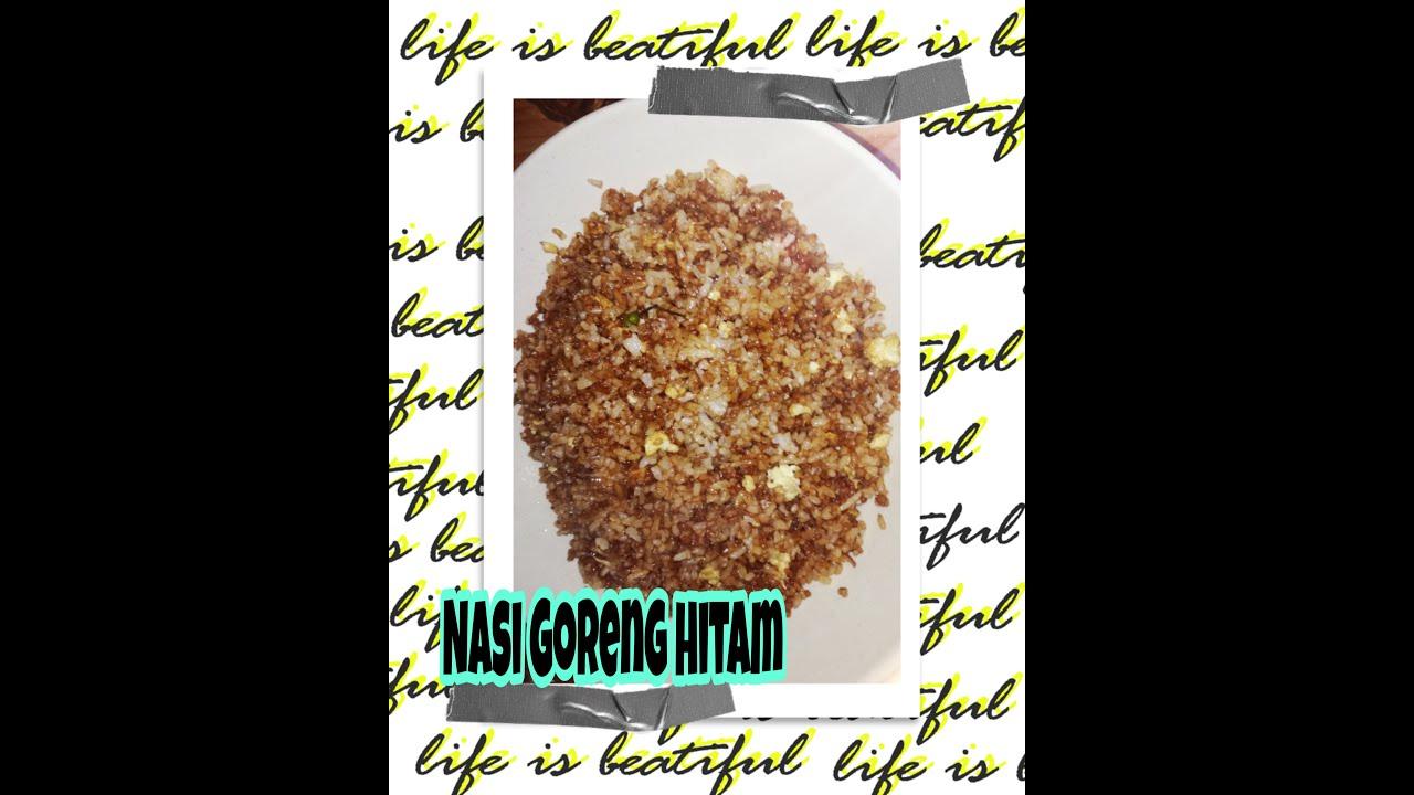 Resepi Nasi goreng Kampung Hitam yang Simple dan enak - YouTube