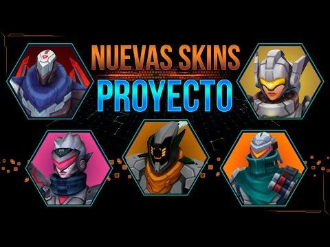Project Skins: Zed - Fiora - Maestro Yi - Lucian - Leona | Nuevas Skins