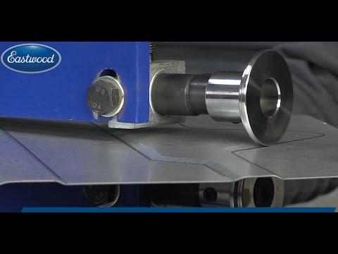 How to Make Custom Floor Pans + Custom Dash using Eastwood Bead Roller & Forming Dies