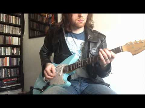 Nirvana love buzz cover with fender jagstang