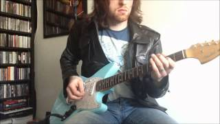 nirvana - love buzz (cover) with fender jagstang
