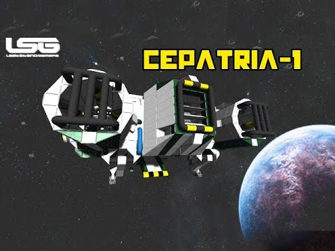 Space Engineers - Cepatria-1, Exploration Ship