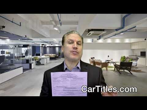 Florida Duplicate Replacement Vehicle Title Application