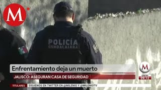 Militares se enfrentan con criminales en Guadalajara