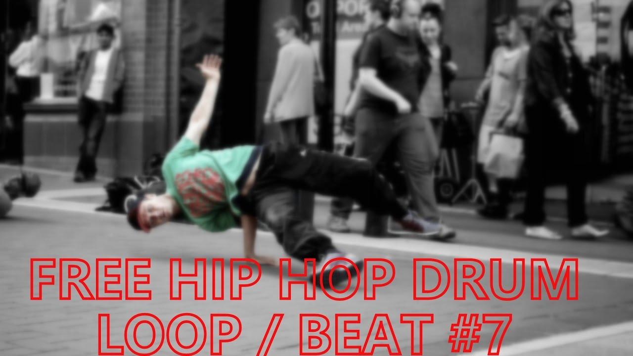 105 Bpm Hip Hop Drum Beat / Loop #7