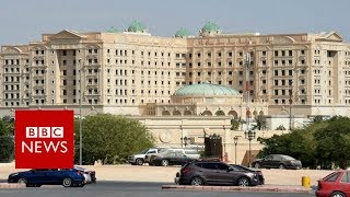 EXCLUSIVE: Inside Saudi Arabia's gilded prison at Riyadh Ritz-Carlton - BBC News