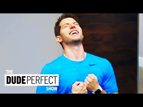 Thumbnail: Dude Perfect Teaches Coby How To Play Like a Champion on CMT's Dude Perfect Show