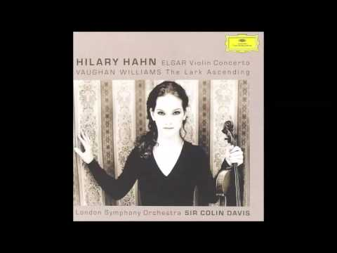 Edward Elgar: Concerto for violin and orchestra, Hilary Hahn