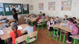 Відео. Фрагмент уроку української мови