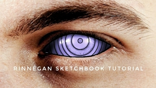 Mata RINNEGAN dengan Sketchbook | Sketchbook Tutorial