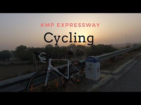 KMP EXPRESSWAY-CYCLING II GURGAON-MANESAR -KMP-SOHNA-GURGAON II 80 KMS II