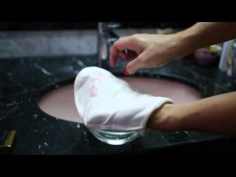 Ebody Face Cleansing Mitt - Demo