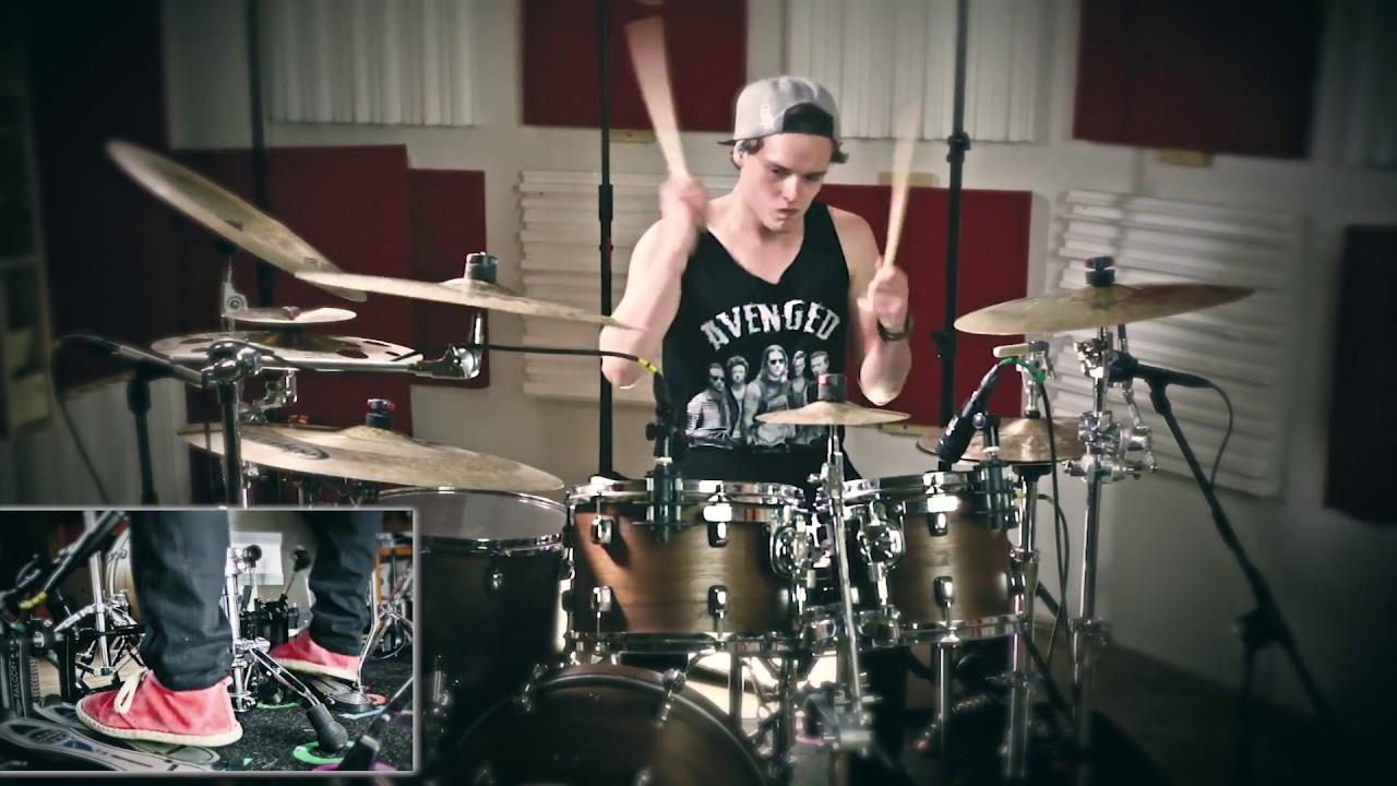 Blessthefall - 40 Days    - Jonas Heinrich Drum Cover