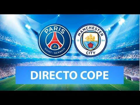 (SOLO AUDIO) Directo del Manchester City 2-0 PSG en Tiempo de Juego COPE