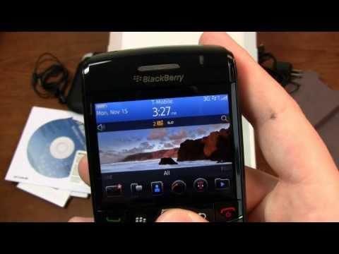 BlackBerry Bold 9780 Unboxing