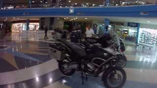 Exhibicion de motos en LLANO MALL Acarigua