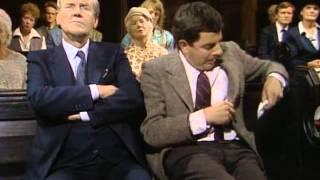 Mr Bean in church