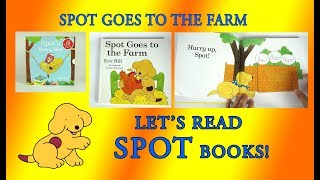 Spot Goes to the Farm, Original Lift the Flap Books, Full Book Reveal, Eric Hill