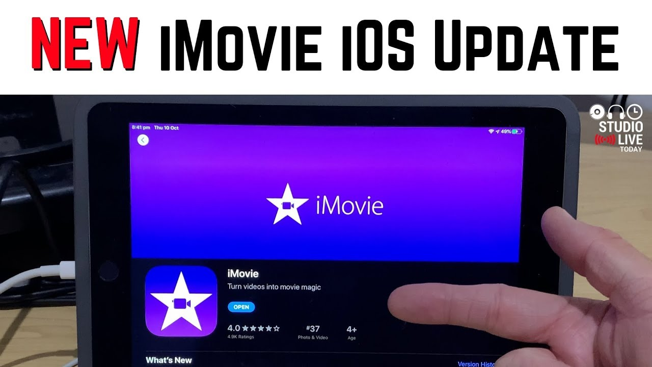 New iMovie Update for iOS 13 - YouTube