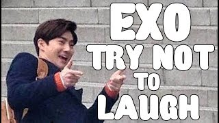 EXO - TRY NOT TO LAUGH CHALLENGE  #2