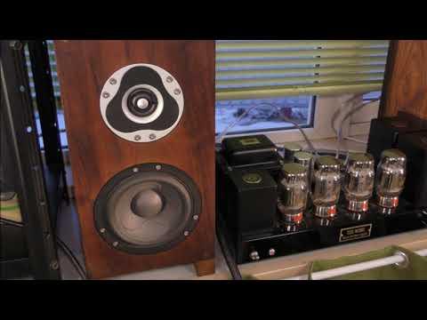 DIY SCANSPEAK LUMINE・DIY KT88 WILLIAMSON AMP(^^♪