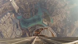 Amazing view from the Burj Khalifa - World Tallest Building
