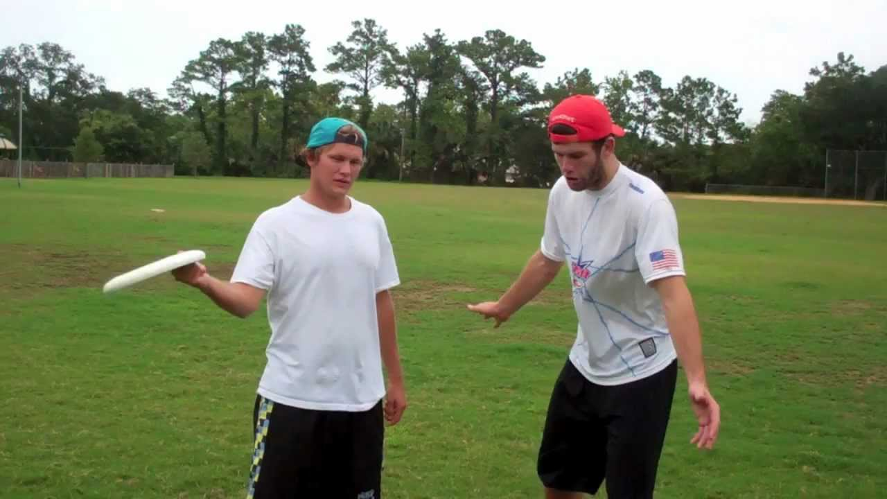 How To Mark In Ultimate Frisbee | Brodie Smith - YouTube