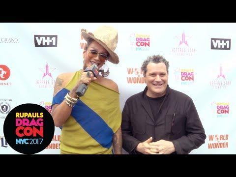 Raja & Isaac Mizrahi on NY Fashion Week at RuPaul's DragCon NYC 2017