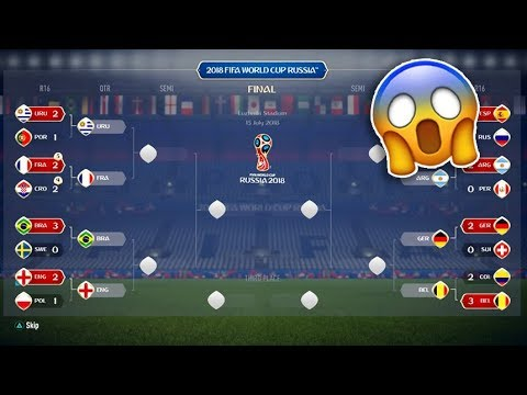 OMG FIFA 18 WORLD CUP MODE!!😱