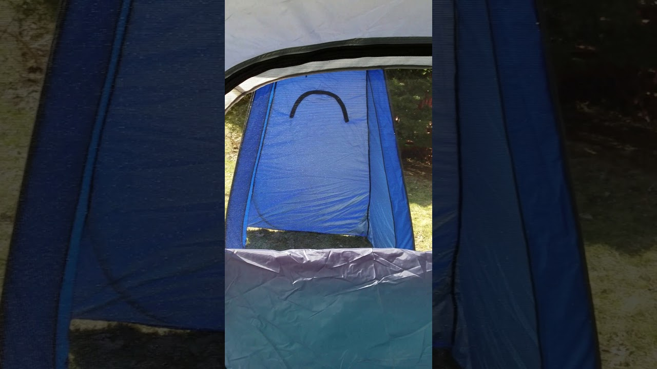 Camp Valley Instant Tent 10ft By 14ft 10 Person Tent Youtube