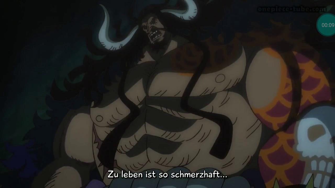 One Piece:912, Kaido taucht auf! Und zeigt seine Drachen frücht!german Sub!
