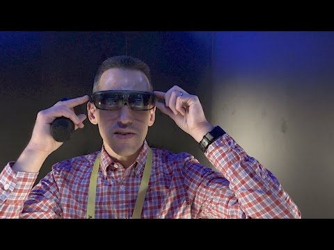 CES Interview: ODG Unveils New R-8 and R-9 Augmented Reality / AR Smart Glasses