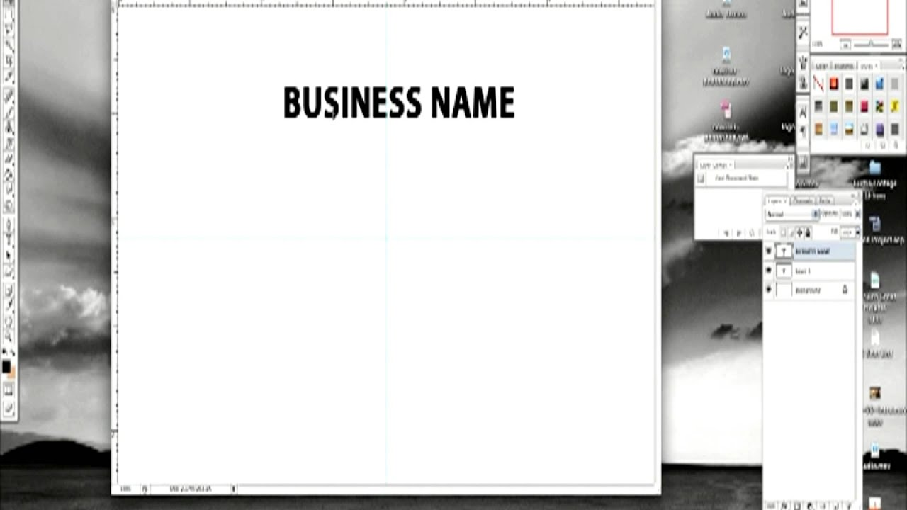 Graphic Design Techniques : How to Make Your Own Business Cards ...