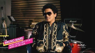 Bruno Mars is Music Choice's Best of 2017