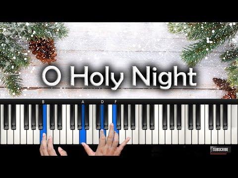 Belajar Piano O Holy Night | Christmas Project | Rohani Piano Keyboard