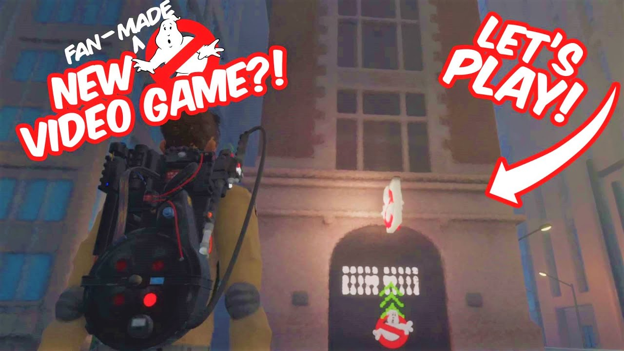 LET'S PLAY: New fan-made Ghostbusters video game!
