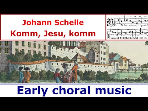 Johann Schelle - Komm, Jesu, komm (Aria for 5 voices)