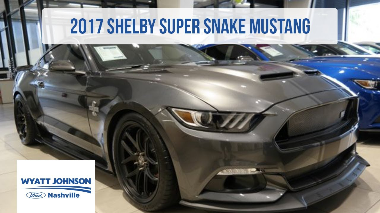2017 Shelby Super Snake Mustang | FOR SALE | Magnetic Metallic - YouTube