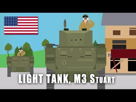 WWII Tanks: Light Tank M3 'Stuart'