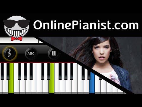 Indila - Derniere Danse (Last Dance) Piano Tutorial (Easy Version) comment jouer