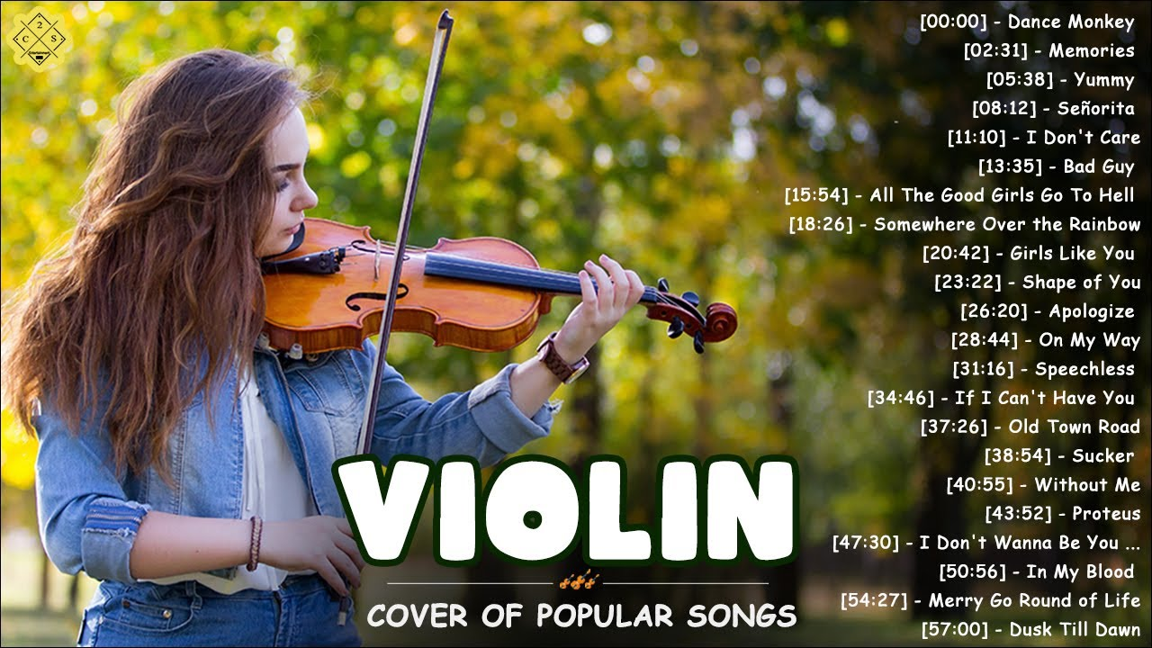Download Top New Covers of Popular Songs 2021 - Best Instrumental Violin Covers Of All Time