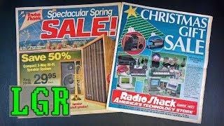 LGR - Radio Shack Retro Tech Catalogs 1979-1991