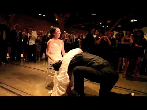 Wife Ices Groom Under Wedding Dress - Best Ever